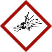 GHS 01 Explodierende Bombe