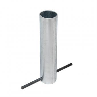 MORION Bodenhülse für Sperrpfosten zum Einbetonieren, 60mm Ø