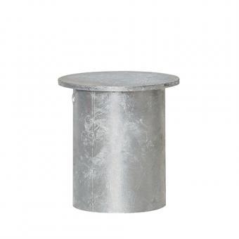 Abdeckkappe für Bodenhülse. Zubehör für Sperrpfosten zum Einbetonieren, 76 mm Ø
