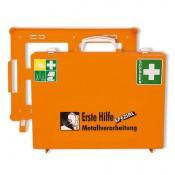 """Erste Hilfe-Koffer für den Bereich """"Metallverarbeitung"""""""