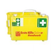 Erste-Hilfe-Koffer Extra Handwerk + gelb