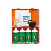 oculav NIT-Box inkl. 4 Druckspülflaschen und Sofortset Augenverletzungen
