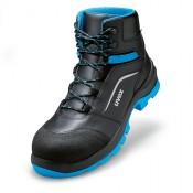 uvex 2 xenova® Schnürstiefel S2 SRC Weite 11, Farbe: blau / schwarz