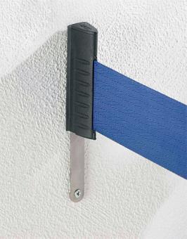 Wandclip GLZ 45 RS-Guideline für Gurtabsperrbänder Kunststoff schwarz