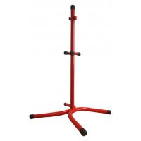Designständer für zwei Feuerlöscher rot