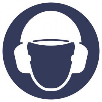 In Anlehnung an ASR A1.3 - Gehör- und Kopfschutz benutzen