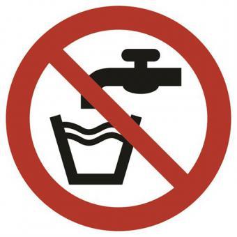 ASR A1.3 [P005] Kein Trinkwasser