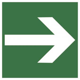 BGV A8 / ASR A1.3 [E01] Richtungsangabe gerade