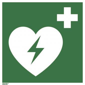 ASR A1.3/ISO 7010 [E010] Automatisierter externer Defibrillator