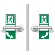 ASR A1.3 / ISO 7010 Türgriffhinterlegung linksweisend