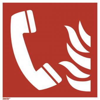 ISO 7010/F006 Brandmeldetelefon