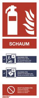 ASR A1.3 [F002] Brandschutzschild Feuerlöscher Schaum