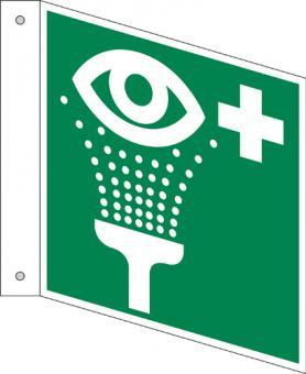 E011 / Augenspüleinrichtung, Fahnenschild