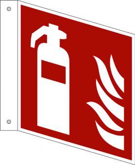 ISO 7010/F001 Feuerlöscher, Fahnenschild