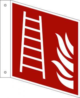 ISO 7010/F003 Leiter als Fahnenschild