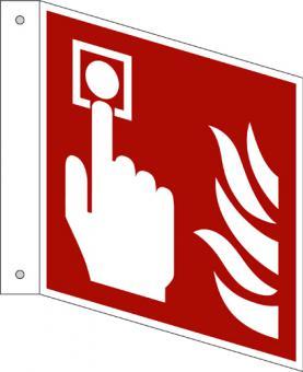 ISO 7010/F005 Brandmelder als Fahnenschild
