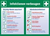Aushang: Infektionen vorbeugen