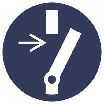 ASR A1.3 [M021] Vor Wartung oder Reparatur freischalten