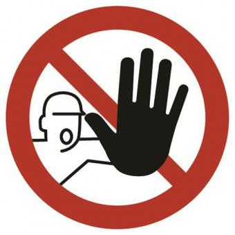 ASR A1.3 [D-P006]/BGV A8 [P06] Zutritt für Unbefugte verboten