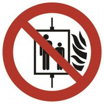 ASR A1.3 [P020] Aufzug im Brandfall nicht benutzen