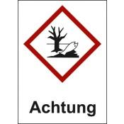 GHS 09 Umwelt Text: Achtung