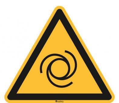 ASR A1.3 [W018]/BGV A8 [W25] Warnung vor automatischem Anlauf