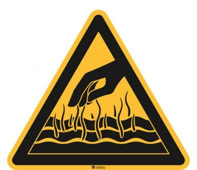 [WBP06] Warnung vor heißen Flüssigkeiten u. Dämpfen