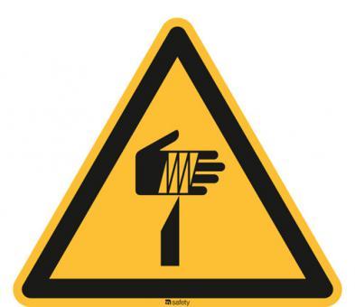 ISO 7010 [W022] Warnung vor spitzen Gegenständen