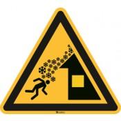 ISO 7010 [W040] Warnung vor Dachlawine