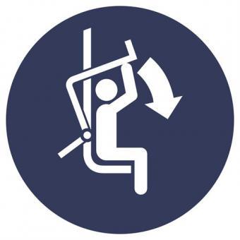SO 7010 [M033] Sicherheitsbügel d. Sessellifts schließ.