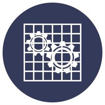 ISO 7010 [M027] Absperrung prüfen
