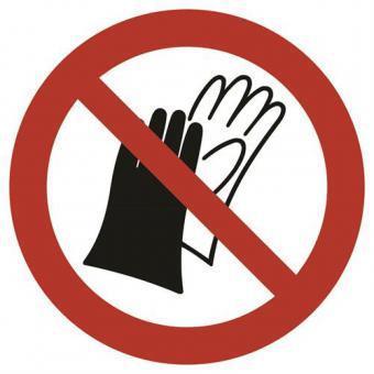 ASR A1.3 [P028] Schutzhandschuhe benutzen verboten