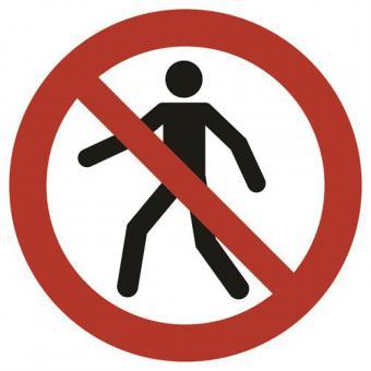 ASR A1.3 [P004] Für Fußgänger verboten