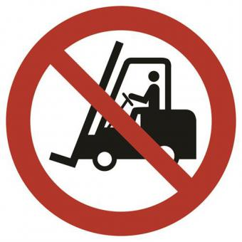 ASR A1.3 [P006] Für Flurförderzeuge verboten