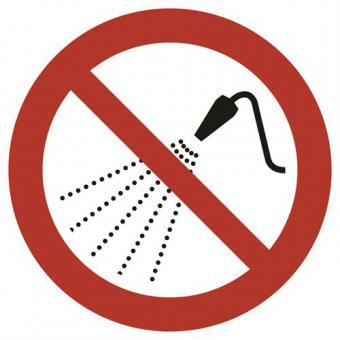 ASR A1.3 [P016] Mit Wasser spritzen verboten