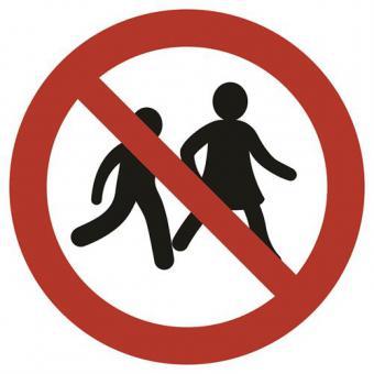 ISO 7010 [P036] Kinder verboten Folie selbstklebend | Stück | 200mm