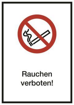 Kombischild ASR A1.3 [P002] Rauchen verboten!
