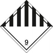 Gefahrgutkennzeichnung Klasse 9 Verschiedene gefährliche Stoffe