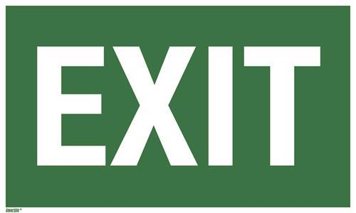 Text: EXIT