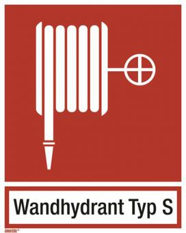 BGV A8/ Löschschlauch, Wandhydrant Typ S