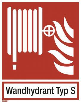 ISO 7010 Löschschlauch/Wandhydrant Typ S