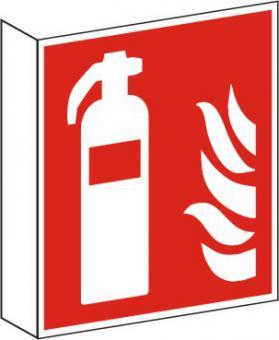 Fahnenschild Feuerlöscher nach ISO 7010 / F 001