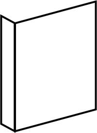 Fahnenschild neutral