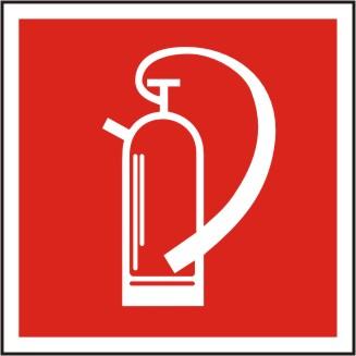 Brandschutzzeichen Feuerlöscher BGV A8 F 05