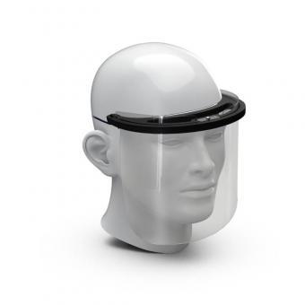 Gesichtsschutz Premium - Das Gesichtsvisier mit Kopfhalterung