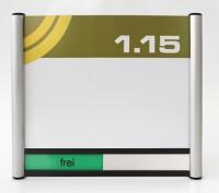 Türschild System PR-174, mit frei / belegt-Anzeige