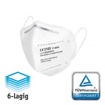 Atemschutzmaske FFP2 (CE 2163) - 20 Stück
