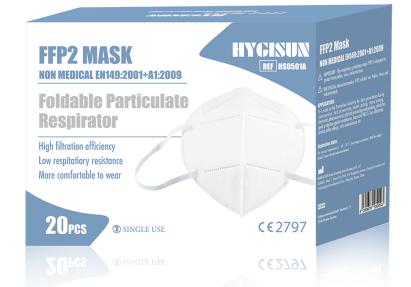 FFP2 Maske | EN 149:2001 | 20 Stück