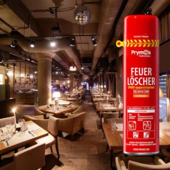 Gastronomie - Feuerlöscher-Spray