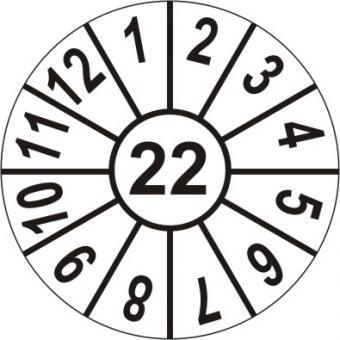 Jahresmarke 2022 auf Rolle zu je 1000 Stück